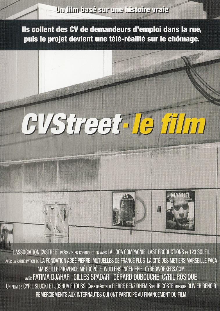 """Un grand MERCI à Cyril Slucki pour avoir choisi une chansons des """"CHANTS SACRES GITANS EN PROVENCE"""" pour illustrer une séquence de son film """"CVSTREET"""". J'en suis honoré"""